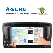 """7"""" RADIO DVD GPS AUDI A3 S3 8P ANDROID 7.1 HD CANBUS DAB+ BLUETOOTH OBD DVR 4G"""