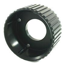 HIGH ENERGY GILMER DRIVE CRANK PULLEY - BLACK. SUITS HOLDEN 304 V8
