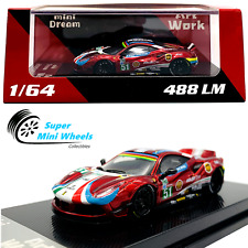 Artworks x Mini Dream 1:64 Liberty Walk Ferrari 488 LM #51 (Red) 2019 GT Winner