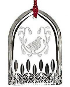 Waterford  The 12th Days Of Christmas-Lismore Edition Partridge Ornament