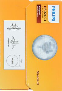 Headlight Bulb-Standard - Single Commercial Pack Philips H6024C1