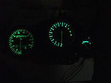 GREEN CBR900rr 92 -97  led dash clock conversion kit lightenUPgrade