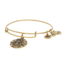 NEW Alex and Ani Hand of Fatima Bracelet - Gold Toned Adjustable Size
