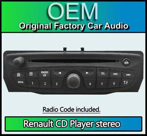 Renault Megane 3 CD player, Blaupunkt 7648033391, 281150032RT car stereo + Code
