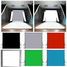 Solid Color Cloth Fabric Studio Prop Photography Backdrop Plain Background Green