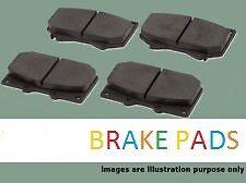 renault espace 2.0/2.1/2.2/2.9 rear brake pads (91 - 97) (dp1114) (new)
