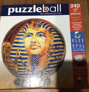 Puzzleball 3D Sphere Blue Opal Special Edition 240 Pieces 15cm 'Ancient Egypt'