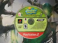 Spongebob Squarepants Battle for Bikini Bottom PS2 Sony Playstation Game Disc