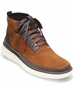 Cole Haan Men Generation Zerogrand HighTop Boots Sneakers Suede Size 10.5
