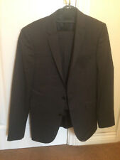 New Kin Men's Grey Wool mix Suit. UK Size Jacket 36R,  Trousers 30 S
