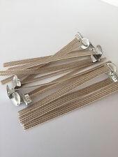 Pack 20 Large Ribbon Wicks. Free Postage.