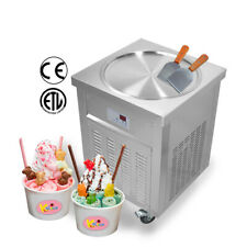 ETL 20''(50cm) Single round pan fried ice cream machine rolled ice cream machine