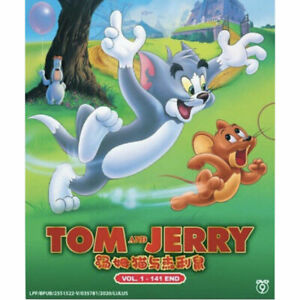 TOM AND JERRY Complete TV Series Volume 1-141.END All Region DVD Cartoon Kids