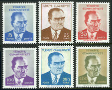 Turkey 1878-1881,1883-1884, MNH. Kemal Ataturk, 1971(see note)