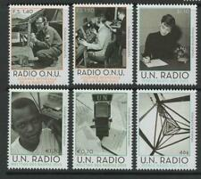 United Nations 2013  MNH World Radio issues from all 3 offices