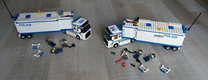 LEGO CITY POLICE 70044+70044  Mobile Police Unit camion +instruc/jpj27