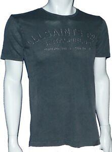 Mens Allsaints Spitalfields Crew Neck T-Shirt in size xs,s,m or L