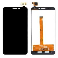 DISPLAY LCD+ TOUCH SCREEN per ALCATEL ONE TOUCH IDOL S OT 6034 6034R NERO 6034X