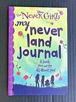 My Never Land Journal (Disney: The Never Girls) Hardcover W/Ribbon Bookmark NEW