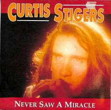 "Curtis Stigers - Never Saw A  Miracle - 7"" Record Single"