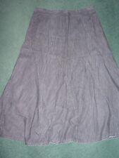 Black Cotton Denim Skirt from Marks & Spencer Size 14