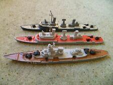 Vintage Matchbox Sea Kings Battleship K-303, K-301 Frigate & K-305 Subchaser