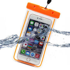 Luminous Glow Underwater Waterproof Bag Pouch Case Neck Strap For Mobile Phones