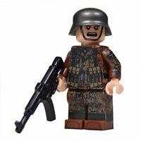 Lego Custom WW2 Soldier in Autumn Dot 44 Camo minifigure - Full Printing STG44