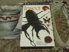 DK VISION~EYEWITNESS~INSECT~EDUCATIONAL~HOME SCHOOL~SCIENCE TEACHER~VHS~TESTED