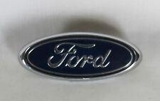 FORD FOCUS GRILLE EMBLEM 00-04 FRONT GRILL OEM BLUE OVAL BADGE sign symbol logo