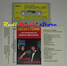 MC CHICCO E TIZIANA ORCHESTRA DEMATTEO buon anno fortuna LISCIO cd lp dvd vhs