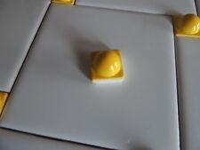 Mosaic SpheresTile Pieces-Tile Inserst- Kitchen Backsplash Tiles-Yellow tiles