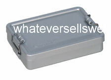 WATERPROOF SURVIVAL KIT TIN aluminium case box for SAS army bushcraft