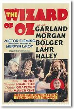 Wizard of Oz - NEW Vintage Movie POSTER