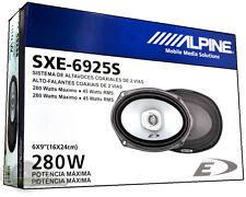 "Alpine SXE-6925S 2-Way 6X9 "" Peak Coaxial Car Audio Speakers 280 Watts *  NEW *"