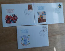 SLOVENIA FDC 13.3.2020 Easter eggs cross complete set