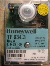 Honeywell Satronic Feuerungsautomat TF 834.3