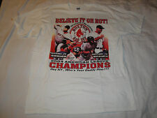 Boston Red Sox 2004 American League Champions Believe It Or Not T-Shirt XL
