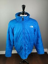 The North Face Mens XL Royal Blue  Poly-Fill Winter Puffer Jacket Zip In Jacket