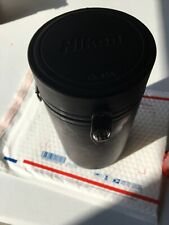 Nikon Black Hard Sided Lens Case CL-43A Camera Carry Storage Free Shoulder Strap
