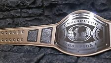 Clearance ! Undisputed Championship Belt Avenger Model Gold Strap Hand Crafted