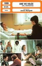 FICHE CINEMA : UNE VIE VOLEE - Ryder,Jolie,DuVall,Leto 1999 Girl, Interrupted