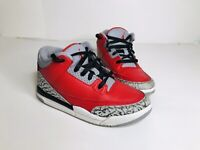"Jordan 3 Retro SE PS ""Red Cement"" CQ0487 600 Sz 13C"
