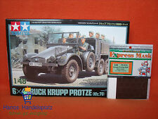 Tamiya ® 32534 6x4 Truck Krupp Protze (Kfz. 70) & Eduard Wheel Masks 1:48