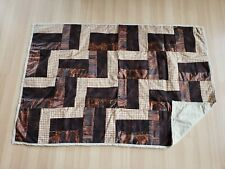 Patchwork Blanket - Baby Child Quilt Throw Homemade