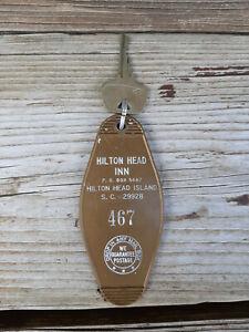 Vintage Hilton Head Inn Key Fob and Key Hilton Head Island S.C