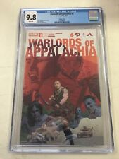 Warlords of Appalachia #1 CGC 9.8 JJUFS Robert Sammelin Variant Cover