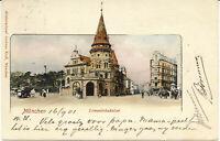 AK München, Löwenbräukeller,  gel. ca am 16.9.1901 nach Holland