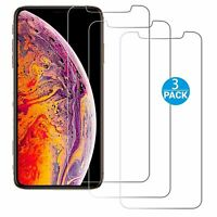 Screen Protector for iPhone -  3 PACK Tempered Glass