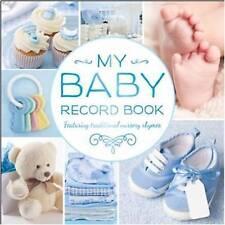 My Baby Record Book Blue by Hinkler Books (Hardback, 2015)